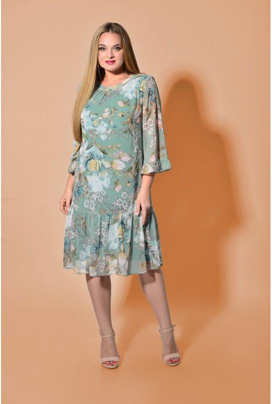 Платье женское В-266 мятный