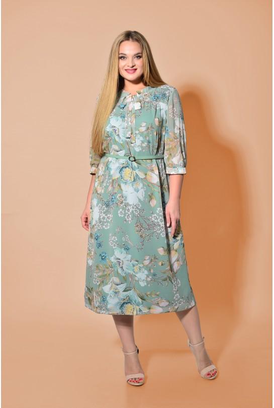 Платье женское В-272/1 мятный