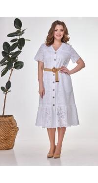 Платье женское В-435 белое